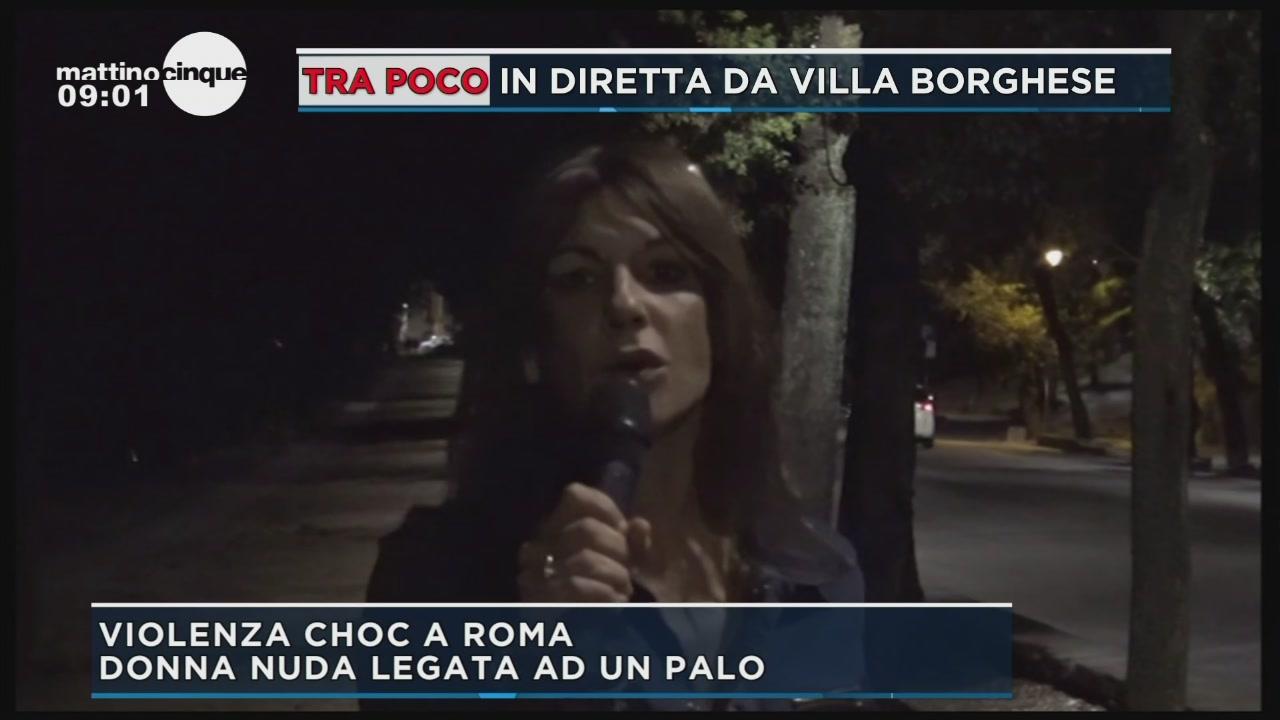 Violenza choc a Roma