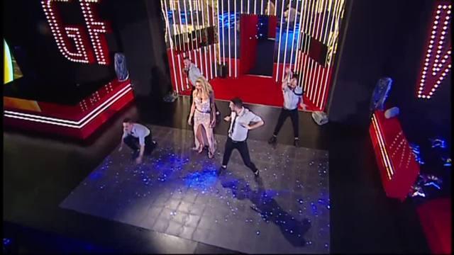 L'esibizione di Valeria