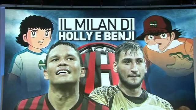 Il Milan di Holly e Benji