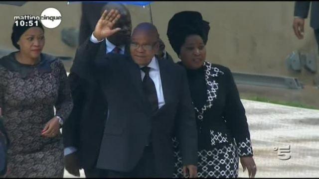 Il funerale di Mandela