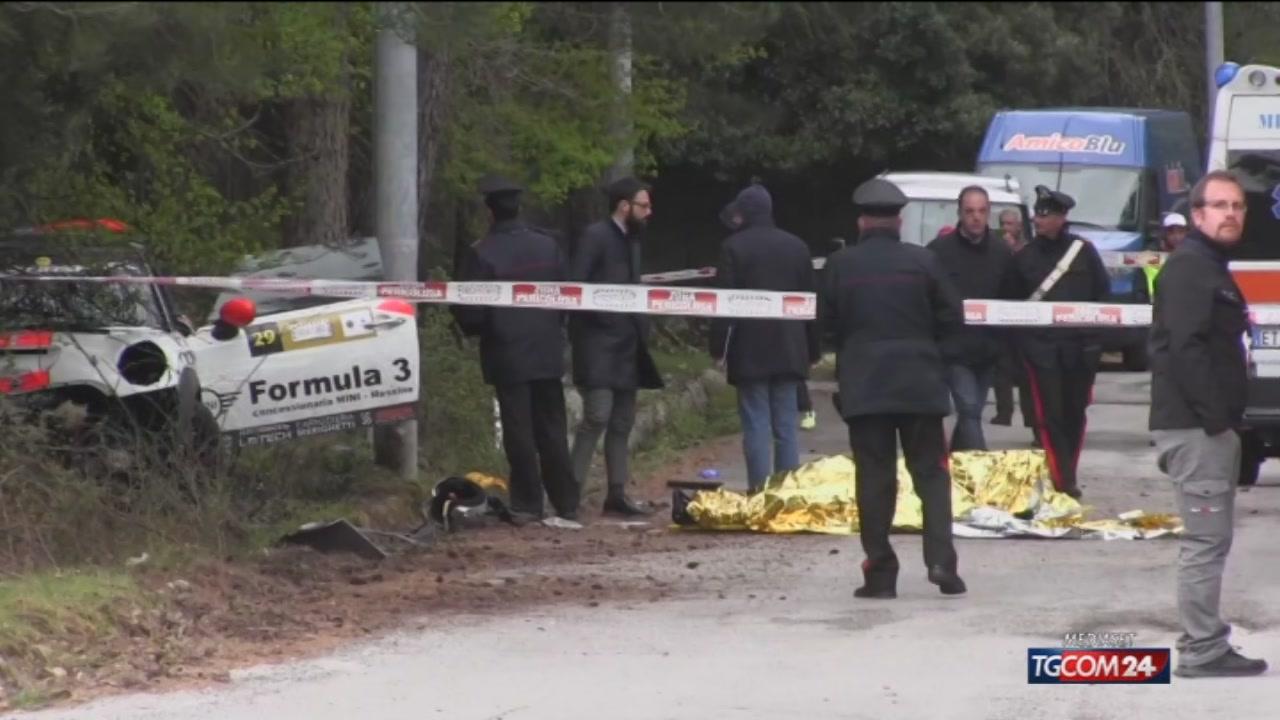 Tragedia alla Targa Florio rally: due morti durante la gara