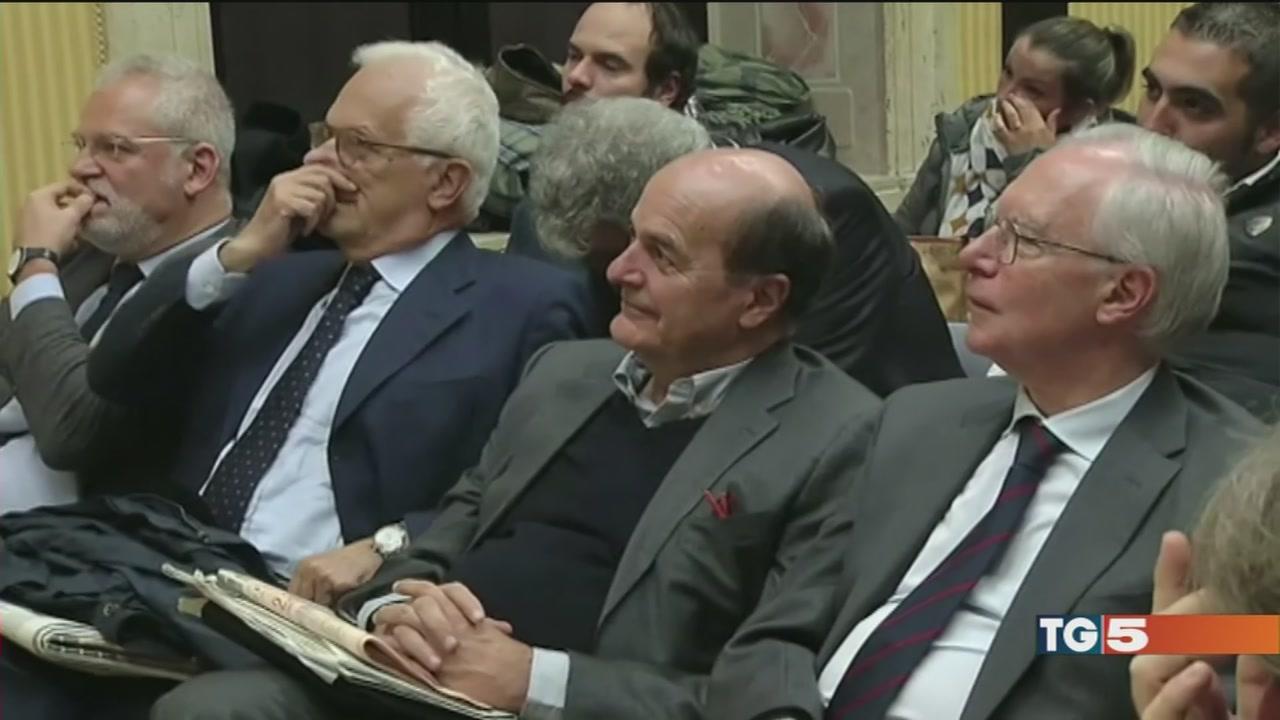 Bersani chiude a Renzi e apre ai cinque stelle