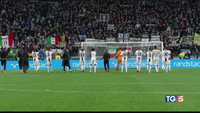 Scudetto alla Juve ottavo consecutivo