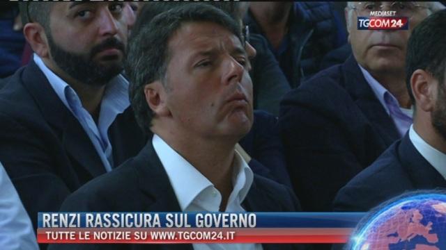 Breaking News delle ore 16.00: Renzi rassicura il governo