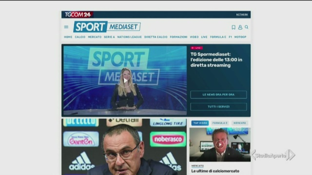 Il nuovo sito di SportMediaset
