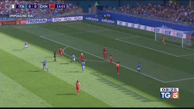 L'Italia vince ancora calcio mondiale donne