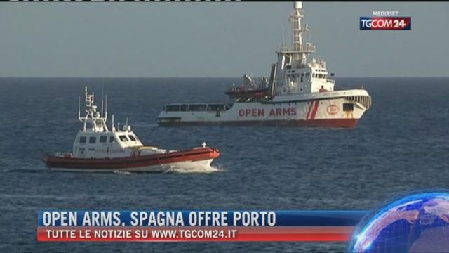 Breaking News delle ore 21.30: Open Arms, Spagna offre porto