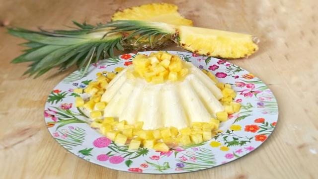 I dolci di Alice: Bavarese all'ananas