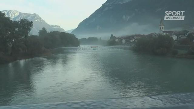 Adigemarathon 2019, il K2 azzurro dietro'Mojzisek-Zavrel