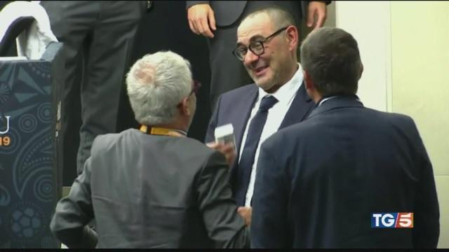 Juve-Sarri, celebrate le 'nozze impossibili'