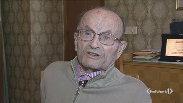 Il gran salto di Peppe, a 103 anni