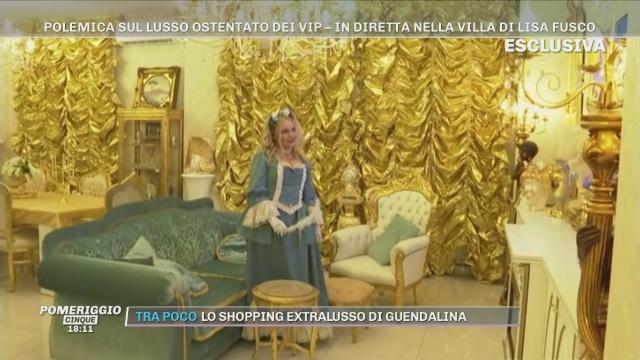 Nella villa di Lisa Fusco