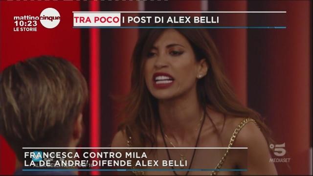 GF 16: Alex e Mila
