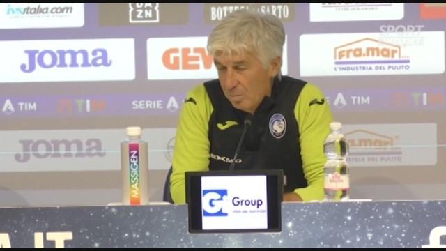 Gasperini: 'lo spirito è intatto, pronti per la Lazio''