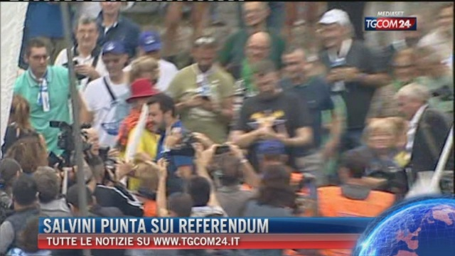 Breaking News delle ore 9.00: Salvini punta sui referendum