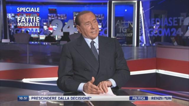 Silvio Berlusconi: 'Sono preoccupato per il futuro del mio Paese' - Prima parte