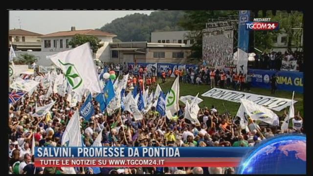 Breaking News delle ore 21.30: 'Salvini, promesse da Pontida'