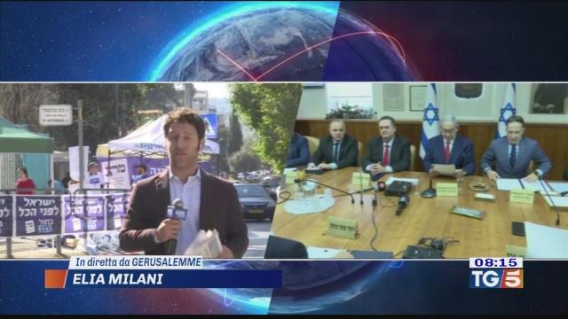 Israele al voto sfida Netanyahu-Gantz