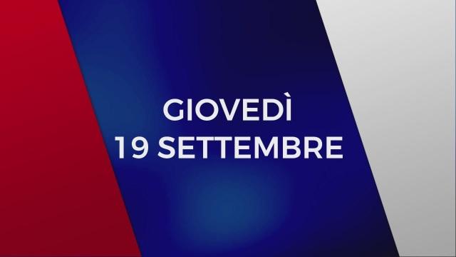 Stasera in Tv sulle reti Mediaset, 19 settembre