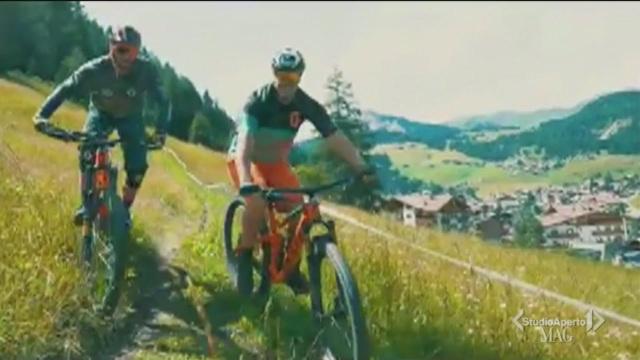 Dagli sci alla mountain bike