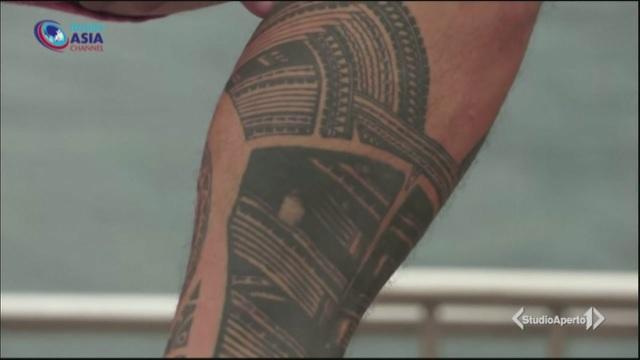 Mondiali di rugby, niente tattoo