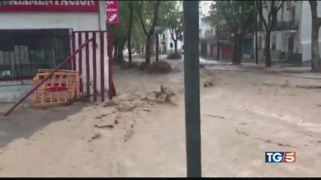 Inondazioni e allagamenti in Spagna