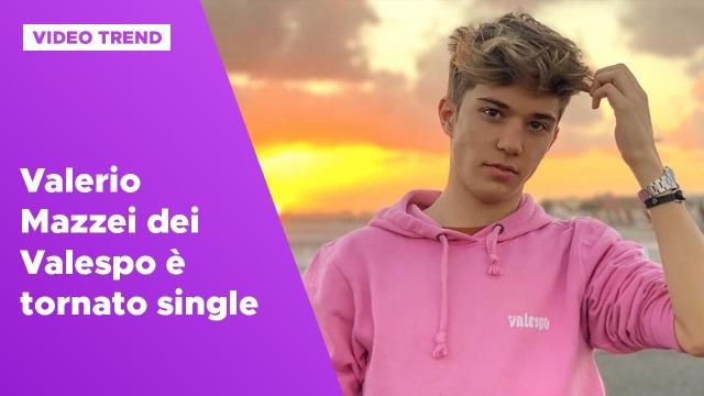 Valerio Mazzei dei Valespo è tornato single