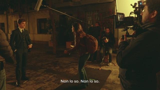 Sul set di 'Lontano da te' interviste e...