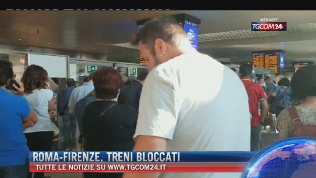 Breaking News delle ore 09.00: 'Roma-Firenze, treni bloccati'