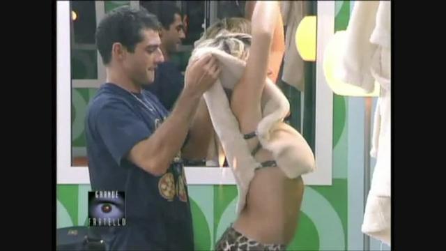 La panterona Mascia Ferri al Grande Fratello 2001
