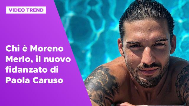 Chi è Moreno Merlo, il nuovo fidanzato di Paola Caruso
