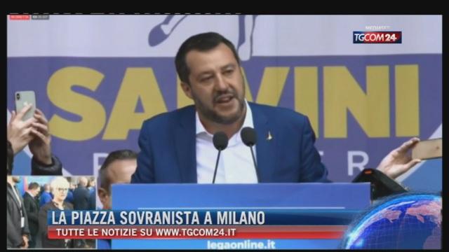 Breaking News delle ore 21.30: 'La piazza sovranista a Milano'