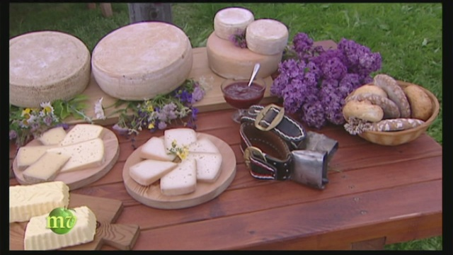 I formaggi dal latte della Grigio alpina