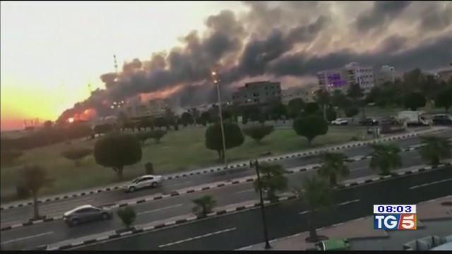 Dopo gli attacchi sale il prezzo del petrolio