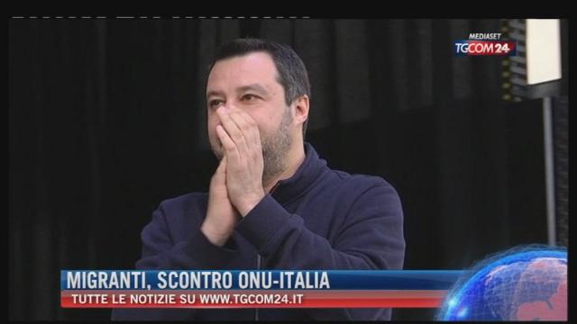 Breaking News delle ore 21.30: 'Migranti, scontro Onu-Italia'