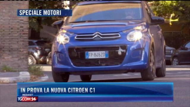 In prova la nuova Citroen C1