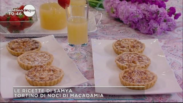 Tortini di Noci di Macadamia