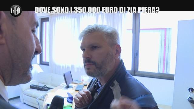 PELAZZA: Mancano 350 mila euro sul conto della zia Piera: è stato il commercialista?