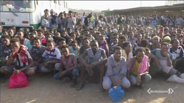 Tre aguzzini tra i migranti