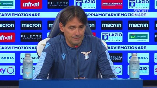 Lazio, Inzaghi: 'Lotito è un motivatore'