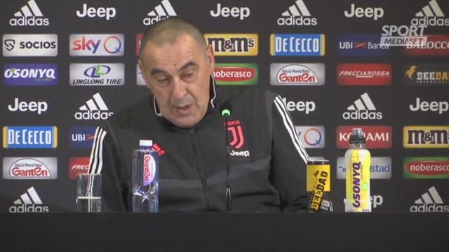 Juventus, Sarri: 'Bologna squadra con numeri importanti'