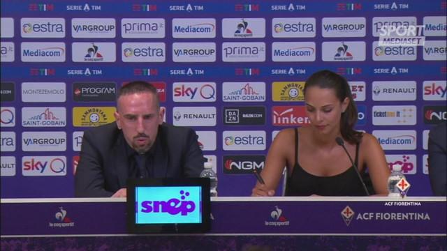 Ribery, che italiano! La sala stampa applaude