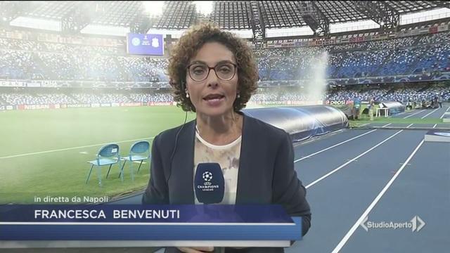 Napoli da Champions su Canale 5