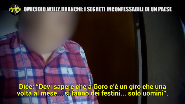 MONTELEONE: Speciale Willy Branchi/2: quell'auto misteriosa e i festini gay