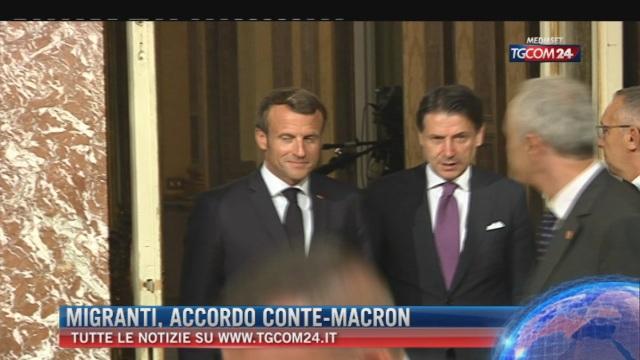 Breaking News delle ore 09.00: 'Migranti, accordo Conte-Macron'