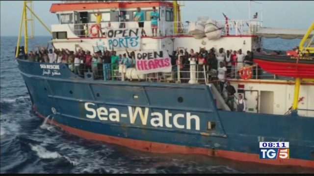 Sea Watch niente sbarco sentenza pro-Italia