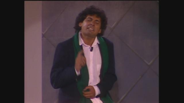 'Tu suoni...' Francesco Paolantoni a Cabaret per una notte 1987