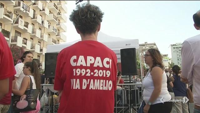 Palermo ricorda Borsellino