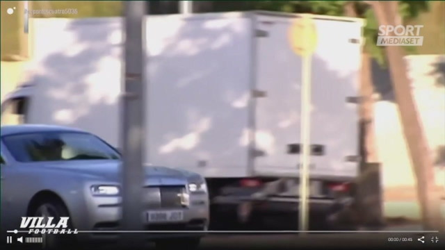 Griezmann viaggia in Rolls Royce