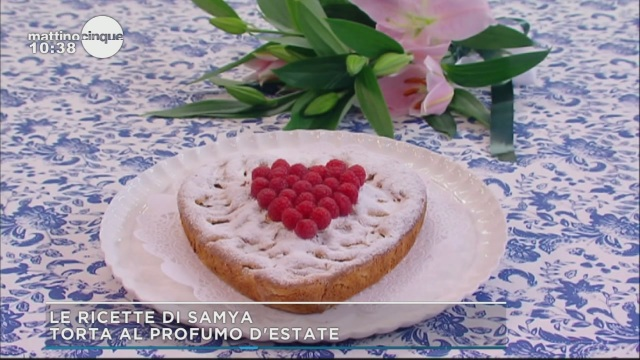 Torta al profumo d'estate